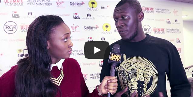 Stormzy (@Stormzy1) at The Ultimate Seminar 2014