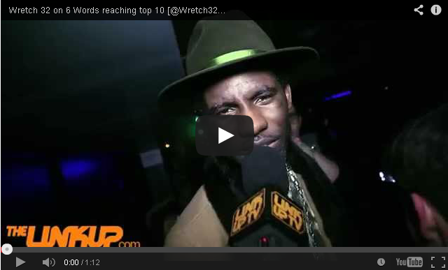 BRITHOPTV- [Video Interview] Wretch 32 (@Wretch32) on 6 Words reaching top 10- #UKHipHop #UKHipHop