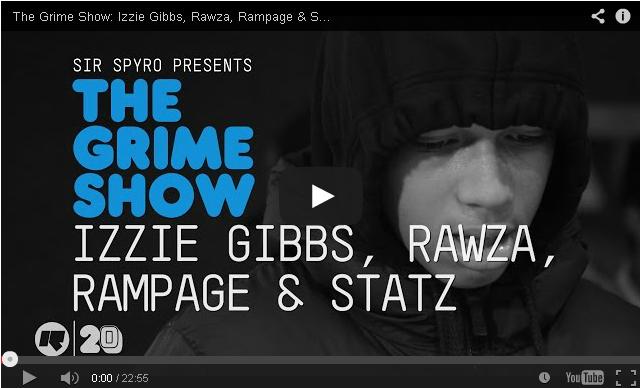 BRITHOPTV- [Video Set] Izzie Gibbs (@IzzieGibbs), Rawza, & Rampage, & Statz on @SirSpyro #GrimeShow [@RinseFM] - #Grime