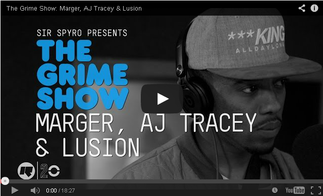 BRITHOPTV- [Video Set] Marger (@ItzMarger), AJ Tracey (@AJFromTheLane), & Lusion (@ThisIzLusion) on @SirSpyro #GrimeShow [@RinseFM] - #Grime