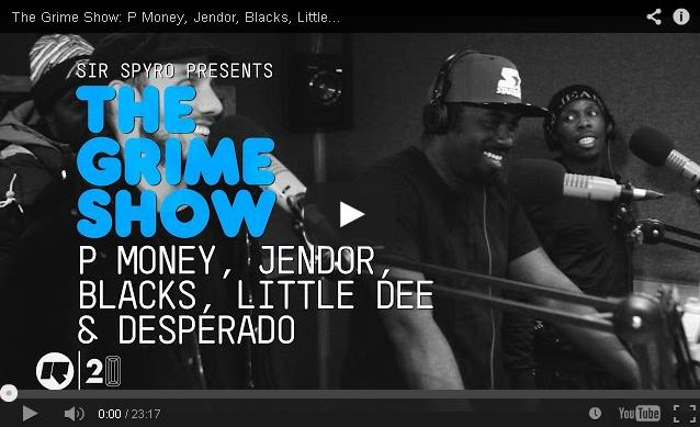 BRITHOPTV- [Video Set] P Money, Jendor, Blacks, Little Dee & Desperado on @SirSpyro #GrimeShow [@RinseFM] -#Grime.