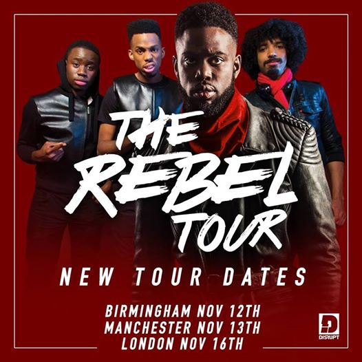Ghetts Rebel Tour November 2014 Dates