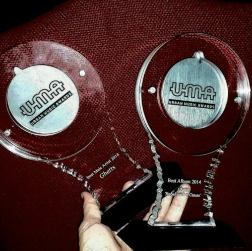 Ghetts 'Best Male Artist 2014 & ,Best Album 2014' Urban Music Awards