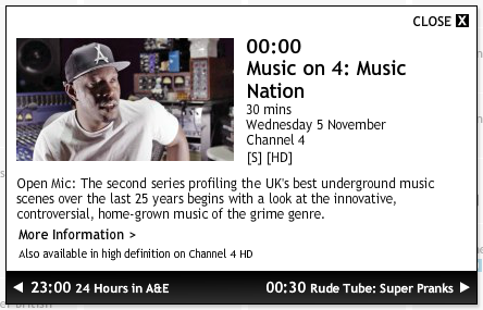 BRITHOPTV: [Music News] Music nation - Open Mic #Grime documentary to air tonight on Channel 4   #Grime #News