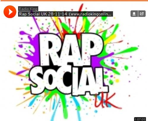 BRITHOPTV: [Radio Show] Rap Social Radio Show: 28th November 2014  Guest: @RashidKasirye [@JoeyClipstar/ @YanksCaesar] [@Radio_King] |#UKRap #UKHipHop