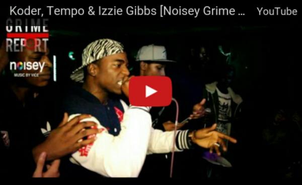 BRITHOPTV: [Live Performance] Koder (@OfficialKoder), Tempo (@TempoArtist) & Izzie Gibbs (@IzzieGibbs) [@NoiseyMusic Grime Set] | #Grime