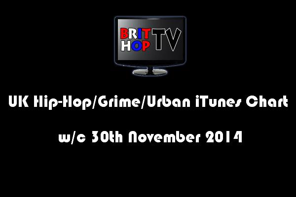 BRITHOPTV: [Chart] UK Hip-Hop/Grime /Urban iTunes Album Chart W/C 30th November 2014 | #UKRap #UKHipHop #Grime