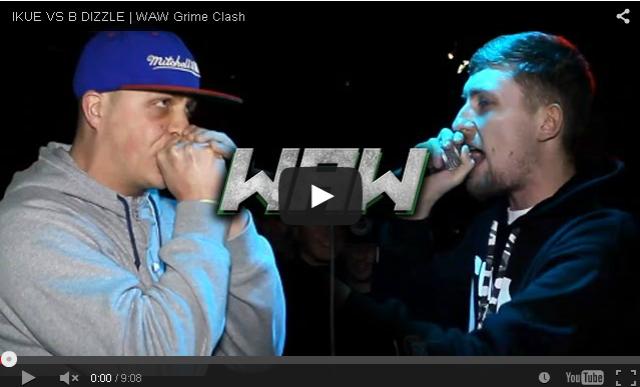 BRITHOPTV- [Battle Video] WAW Grime Clashes- Ikue (@ikueartist) Vs B Dizzle (@bdizzlemwo) [@wawgrimeclashes]- #Grime.
