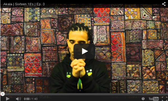 BRITHOPTV- [Freestyle Video] Akala (@AkalaMusic) – ' #Sixteent16s' [EP-03]- #UKRap #Grime