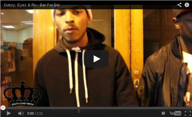 BRITHOPTV- [Freestyle Video] Dubzy (@dubzysnazz), Eyez (@Eyez_UK) & Rv (@RVHDUK) – #BarForBar – [@SCM_UK] - #Grime