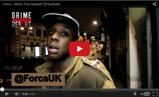 BRITHOPTV-[Freestyle Video] Forca (@ForcaUK) – ' #WhosTheHardest Freestyle [@GrimeReportTV] I #Grime #UKRap
