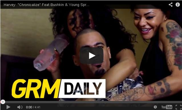 BRITHOPTV- [Music Video] Harvey (@HarveyOfficial) – 'Chronicalize Ft Bushkin ( @BushBash ) Young Spray (@Young_Spray)' - #UKRap #UKHipHop
