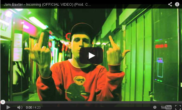 BRITHOPTV- [Music Video] Jam Baxter (@ActualJamBaxter) – 'Incoming' (Prod. Chemo) [@HighFocusUK] - #UKRap #UKHipHop