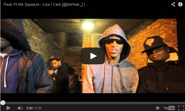 BRITHOPTV- [Music Video] Peak (@ItsPeak_) – 'Like I Care Ft. Mo Squeeze' - #UKRap #UKHipHop