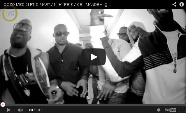 BRITHOPTV- [Music Video] Qozo Medici (@Qozo Medici) – 'Mandem D Martian (@DMartian100), Hype & Ace (@BlackBraddPitt1)'- #UKRap #UKHipHop.