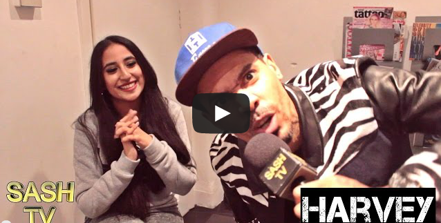BRITHOPTV- [Video Interview] Harvey (@HarveyOfficial) Talks his Big Brother, music with @Young_Spray & BushBash and more- [@SashtoonTV_] - #UKRap.