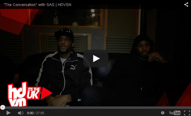 "BRITHOPTV- [Video Interview] SAS (@MayhemSAS @MegaSAS) – ""The Conversation"" [@HDVSN] - #UKRap #UKHipHop."