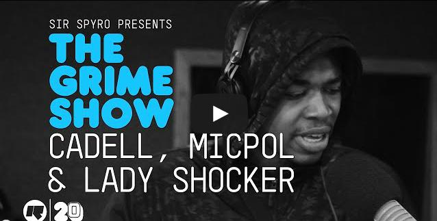 BRITHOPTV- [Video Set] Cadell (@CADELLOFFICIAL), Micpol (@Grimey_MicPol) & Lady Shocker (@ladyshocker) on @SirSpyro #GrimeShow [@RinseFM] - #Grime