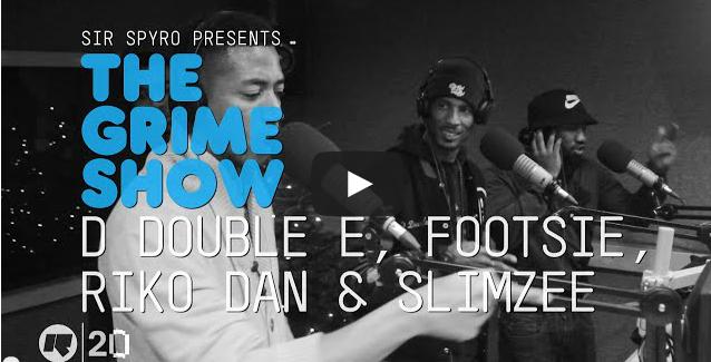 BRITHOPTV- [Video Set] D Double E (@DDoubleE7), Footsie (@Footsie), Riko Dan (@therikodan) & Slimzee (@dj_slimzee) on @SirSpyro #GrimeShow [@RinseFM]- #Grime