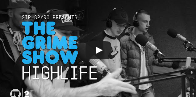 BRITHOPTV- [Video Set] #HighLife on @SirSpyro #GrimeShow [@RinseFM] #Manchester - #Grime.