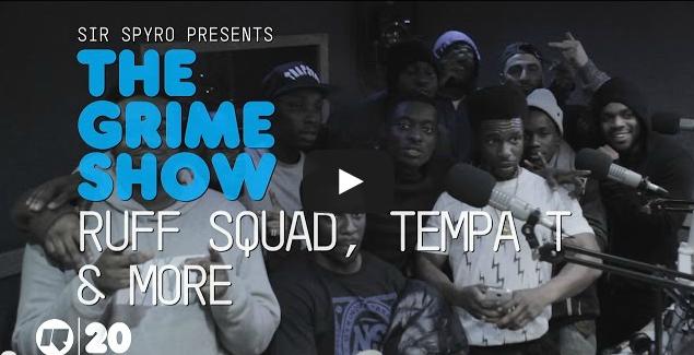BRITHOPTV- [Video Set] Ruff Sqwad- @PrinceRapid @TinchyStryder @dirtydxnger, @Tempa_T, @OpiumArtist & More @SirSpyro #GrimeShow [@RinseFM] - #Grime