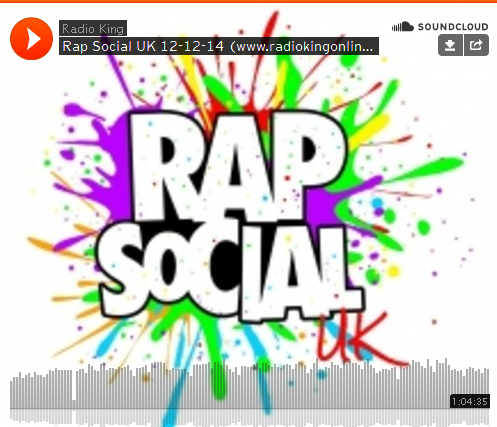 BRITHOPTV: [Radio Show]  @RapSocial Radio Show: 12th December 2014  [@JoeyClipstar/ @YanksCaesar] [Radio_King] | #UKRap #UKHipHop