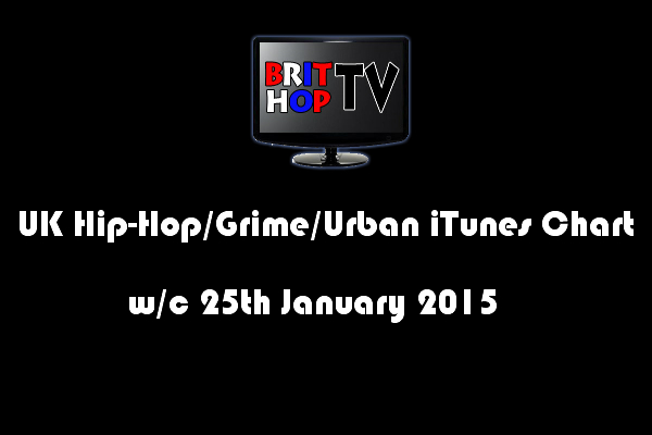 BRITHOPTV: [Chart] UK Hip-Hop/Grime /Urban iTunes Album Chart W/C 25th January 2015 | #UKRap #UKHipHop #Grime