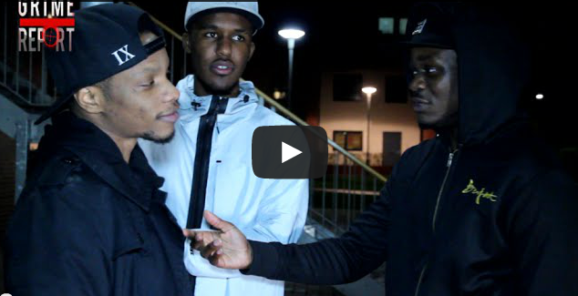 BRITHOPTV- [Behind The Scenes] Youngs Teflon (@YoungsTeflon), Novelist (@Novelist) & A Squeezy (@ArnoldJorge) At 'HeavyTrackerz' Video shoot - #Grime #UKRap.