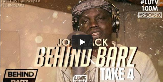BRITHOPTV- [Freestyle Video] #LUTV100MILL Joe Black (@JoeBlackUK) – ' #BehindBarz' (Take 4) - #UKRap #UKHipHop