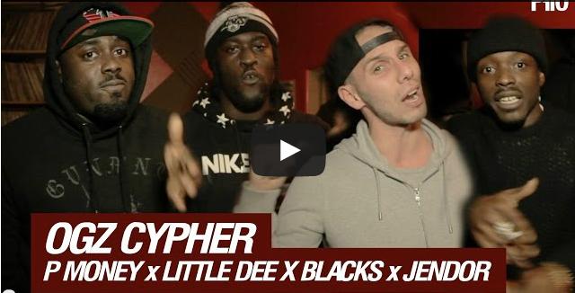 BRITHOPTV- [Freestyle Video] Ogz P Money(@KingPMoney), Little Dee (@LittleDeeMusic), Blacks (@KingBlack) & Jendor (@hollowmanJendor) #P110MediaCypher [@p110Media] - #Grime