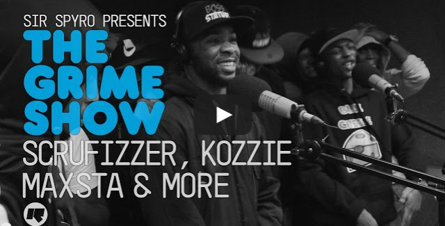 BRITHOPTV- [Video Set] Scrufizzer (@Scrufizzer), Kozzie (@OfficialKozzie), Maxsta (@ItsMaxsta) & More on @SirSpyro #GrimeShow [@RinseFM] I #Grime.