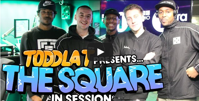 BRITHOPTV- [Video Set] Toddla T (@ToddlaT) presents… The Square (@TheSquareMusic - @Elfisworld, @FaultszMC, @HiltsLDN) #InSession [@BBC1Xtra] - #Grime.