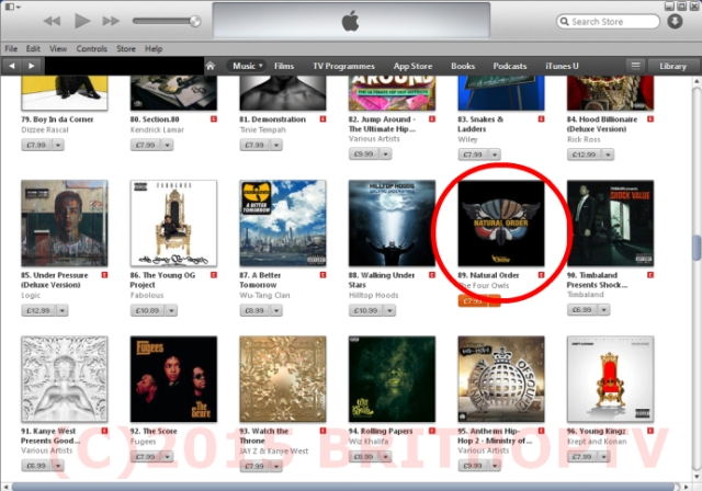 BRITHOPTV: [Music News] Pre-orders Push The four Owls' - 'Natural Order' to No. #89 on the iTunes Hip-Hop/Rap chart | #UKRap #UKHipHop