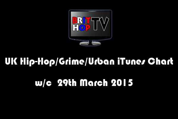 BRITHOPTV: [Chart] UK Hip-Hop/Grime /Urban iTunes Album Chart W/C 29th March 2015 | #UKRap #UKHipHop #Grime