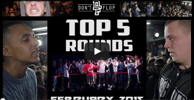 BRITHOPTV- [Battle Video] Top 5 Rounds February 2015 [@DontFlop] I #UKHipHop #UKBattleRap.