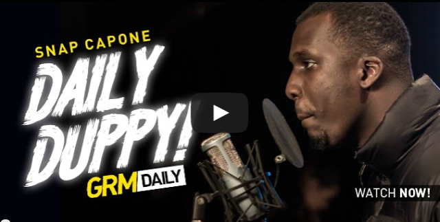 BRITHOPTV- [Freestyle Video] Snap Capone (@SnapCapone) – ' #DailyDuppy' [S_04 EP_05] I #UKRap #UKHipHop.