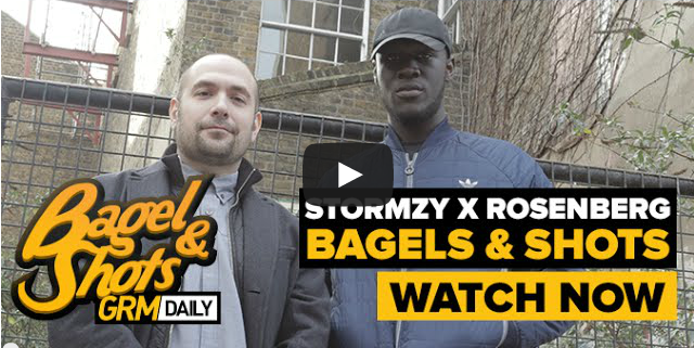 BRITHOPTV- [Video Diary] Bagel And Shots_ Stormzy (@Stormzy1) & Hot 97's Peter Rosenberg (@RosenbergRadio) I #Grime #HipHop