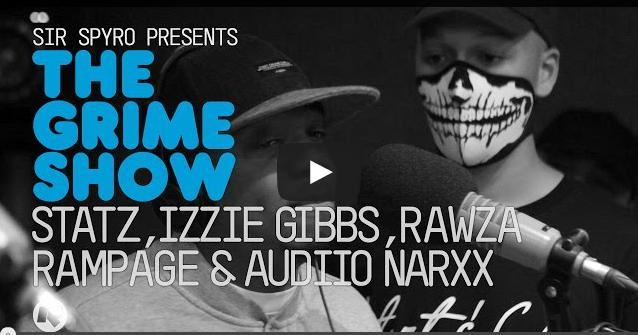 BRITHOPTV_ [Video Set] Statz, Izzie Gibbs, Rawza, Rampage & Audiio Narxx on @SirSpyro #GrimeShow [@RinseFM] I #Grime