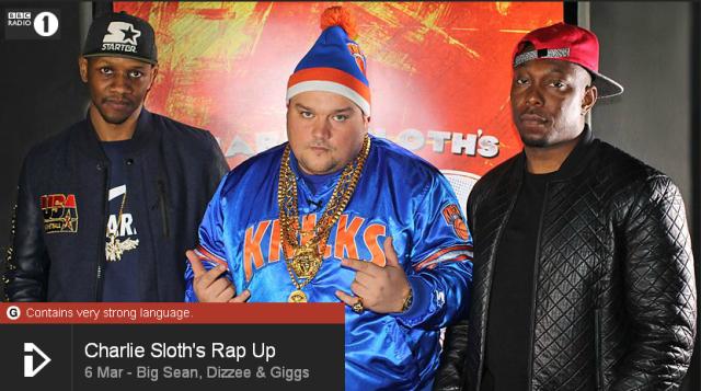 BRITHOPTV: [Web Show] Charlie Sloth's (@CharlieSloth) Rap UP |@BigSean @DizzeeRascal @OfficialGiggs @JSpades @Splurgeboys  [S1: E01 - 01] | [@BBCR1]| #HipHop #Rap #Grime