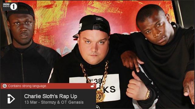 BRITHOPTV: [Web Show] Charlie Sloth's (@CharlieSloth) Rap UP [S1: E02] : | @Stormzy1 @OTGenasis @TheBugzyMalone @FaithSFX @theDiztortion | [@BBCR1] | #HipHop #Rap #Grime