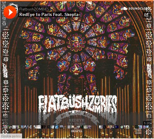 BRITHOPTV: [New Music] Flatbush Zombies (@FlatbushZombies) - 'Redeye To Paris Ft. Skepta (@Skepta)'  #HipHop #Rap