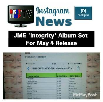 BRITHOPTV: [News] JME (@JME) 'Integrity' Album Set For May 4 Release | #GrimeNews #MusicNews