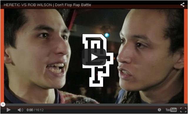 BRITHOPTV- [Battle Video] Heretic (@HereticHR) Vs Rob Wilson [@DontFlop] I #UKHipHop #UKBattleRap
