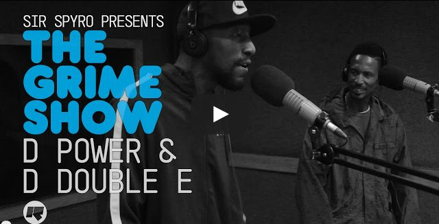 BRITHOPTV- [Video Set] D Double E (@DdoubleE7) & D Power (@OfficialDPower) on @SirSpyro #GrimeShow [@RinseFM] I #Grime