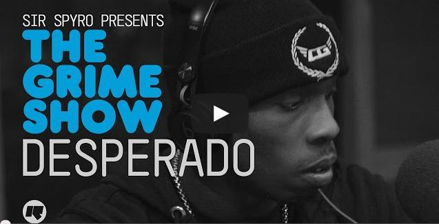 BRITHOPTV- [Video Set] Desperado (@Desperado_Ogz) on Sir Spyro #GrimeShow [@RinseFM] I #Grime.