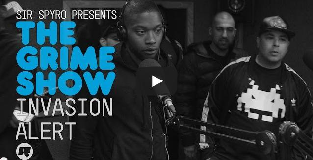BRITHOPTV- [Video Set] Invasion Alert_ @Jaykae_Invasion @HitmansOnline @HAZMANINVASION on Sir Spyro #GrimeShow [@RinseFM] #Birmingham I #Grime