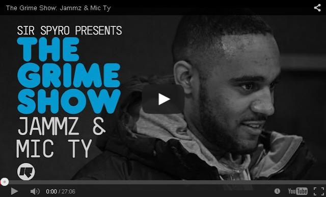 BRITHOPTV- [Video Set] Jammz (@Jammz) & Mic Ty (@MicTyMC) on @SirSpyro #GrimeShow [@RinseFM] I #Grime