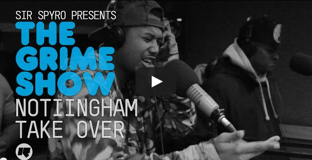 BRITHOPTV- [Video Set] #Nottinham Take Over_ @Kyeza_ @Aye_nizzy, Nartz, @SDouble0115 @Jdotnotts @SparxMusic on @SirSpyro #GrimeShow [@RinseFM] I #Grime