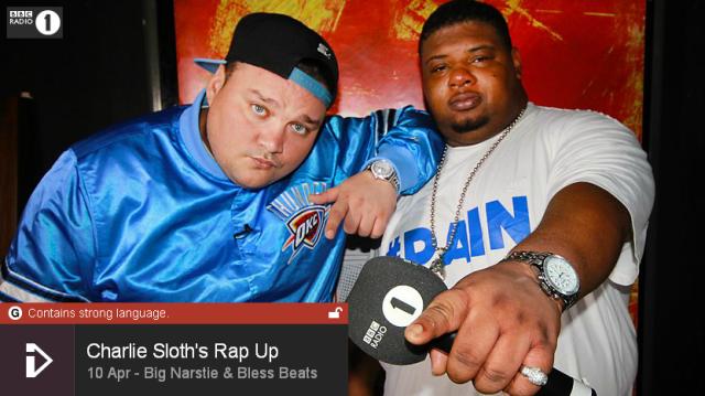BRITHOPTV: [Web Show] Charlie Sloth's (@CharlieSloth) Rap UP [S1: E06] : | @BigNastie @Blessbeats | [@BBCR1] | #HipHop #Rap #Grime