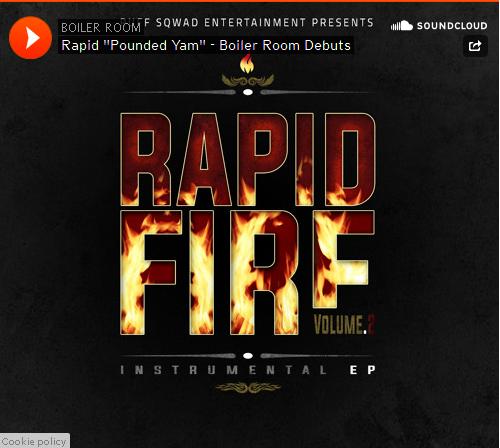 BRITHOPTV: [New Music] Prince Rapid (@PrinceRapid) - 'Pounded Yam' Instrumental | #Grime